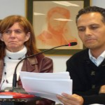 """El autor intervino en la presentación de la novela de Cecilia Domínguez, """"Si hubieras estado aquí"""", en el Museo Poeta Domingo Rivero"""