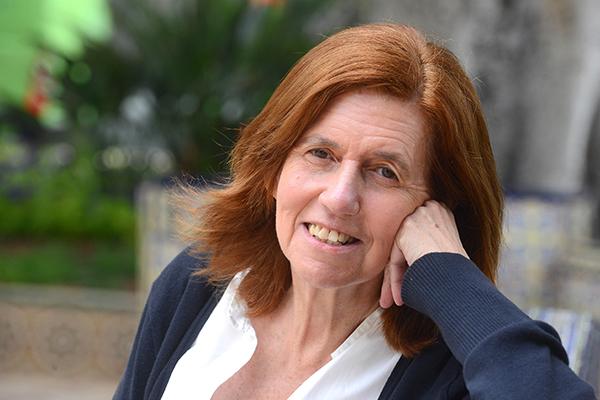 28-05-2014 santa cruz de tenerife  la escritora canaria cecilia dominguez luis