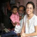 Elena León Hidalgo - En India