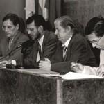 Juan Jiménez - Con Guillermo García-Alcalde, Emilio González Déniz y Sergio Dguez Jaén