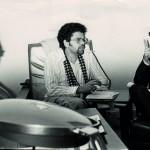 Lázaro Santana - Con Domingo Velázquez y Jorge Rodríguez Padrón c. 1970