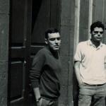 Lázaro Santana - Con Eugenio Padorno en La Puntilla, c. 1966